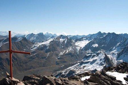 Gleirscher Rosskogel (2994 m) von der Pforzheimer Hütte