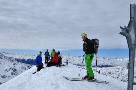 Upikopf (3175 m) vom Glieshof