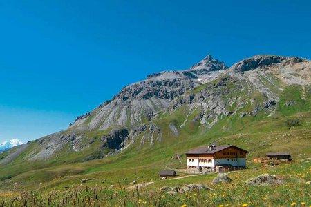 Sesvennahütte, 2256 m - Schlinig