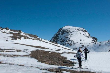 Breite Krone (3079 m) von der Jamtalhütte