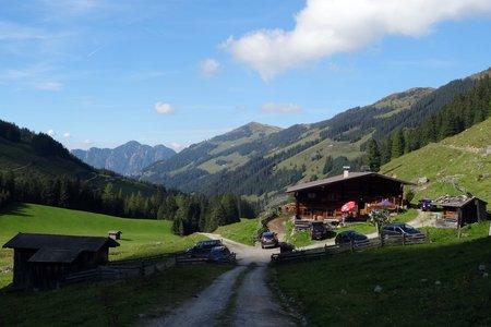 Faulbaumgartenalm (1429 m) im Alpbachtal