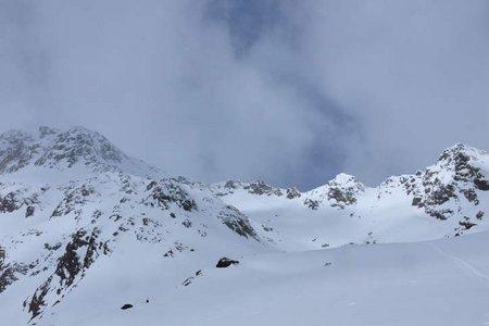 Schneespitze (3178 m) vom Weiler Stein