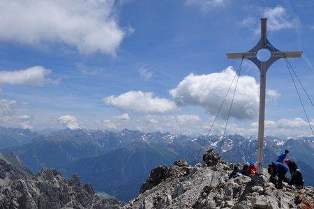 Großer Krottenkopf (2656 m) von der Bernhardseck Hütte