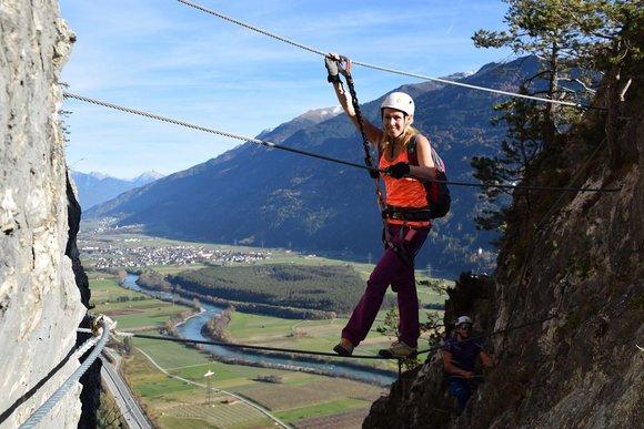 Klettersteige in Tirol