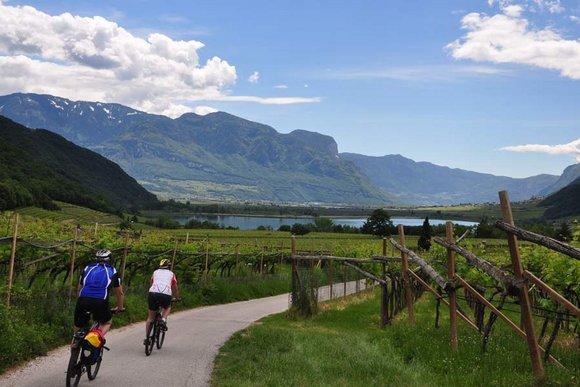 Südtiroler Unterland, Kaltern, Eppan und Bozen