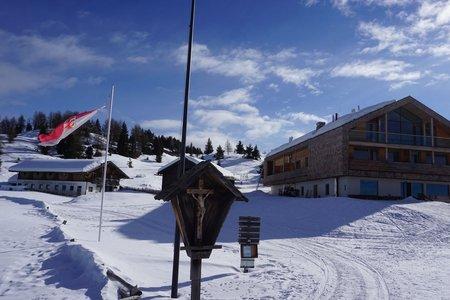 Starkenfeldhütte – Winterwanderweg von Ellen im Pustertal
