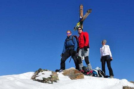 Hoher Seeblaskogel (3235 m) von der Winnebachseehütte