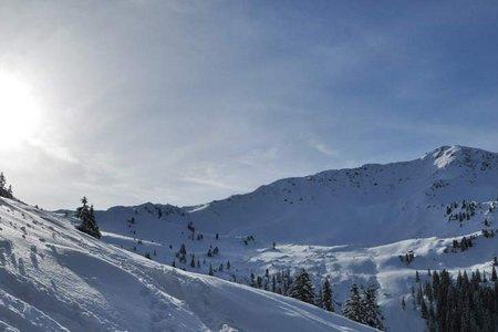Schneegrubenspitze (2236 m) vom Gasthaus Wegscheid