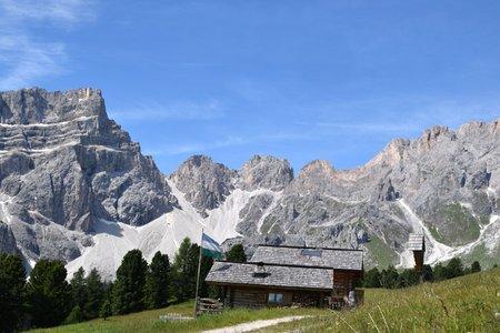 Ütia Ciampciôs (Ciampciôs Hütte) von Campill-Seres