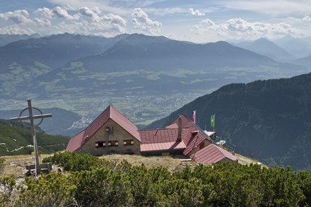 Bettelwurfhütte (2077 m) von Absam
