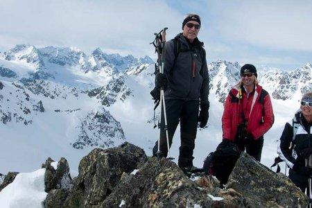Gamsspitze (3114 m) von der Jamtalhütte