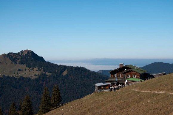 Hüttenwanderungen in Bayern