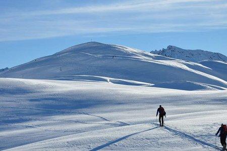 Col de Lasta (2297 m) von der Senneshütte