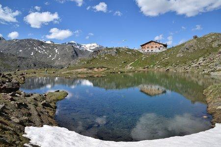 Marteller Hütte (2610 m) von Hintermartell