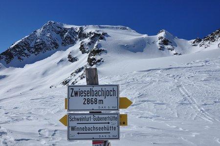 Sellrainer Skitourenrunde von der Dortmunder Hütte
