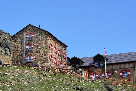 Breslauer Hütte, 2844 m - Vent