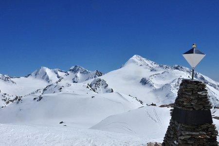 Similaun (3606 m) von Kurzras/Grawand
