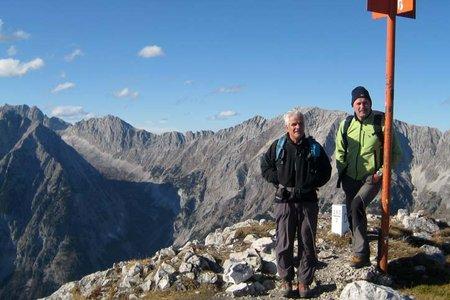 Große Arnspitze (2196 m) von Scharnitz