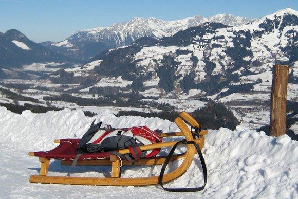 Outdoor-Sport im Winter