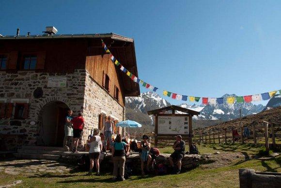 Berghütten im Sellraintal- Kühtai mit Ochsengarten