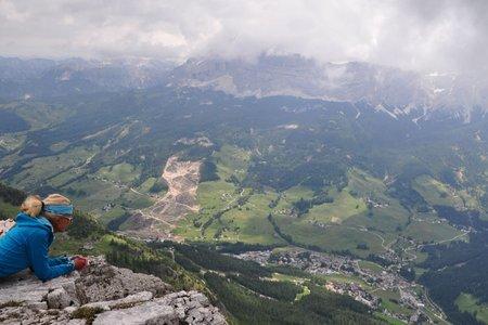 Para dai Giai (2497 m) von der Schutzhütte-Gardenacia