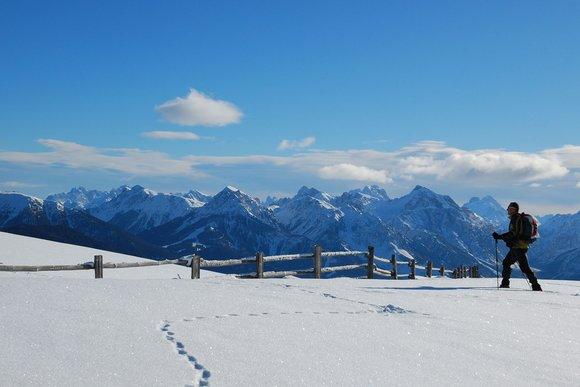 Besondere Schneeschuh-Wanderregionen in Südtirol