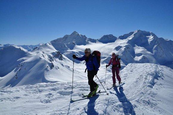 Besondere Skitouren-Regionen in Südtirol