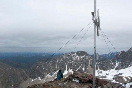 Kraspesspitze (2954 m) von der Dortmunder Hütte