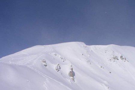 Mislkopf (2623 m) von der Siedlung Kerschbaum