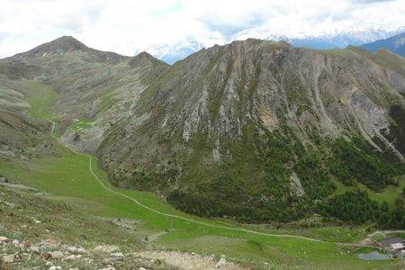 Pleiskopf (2465 m) von Graun