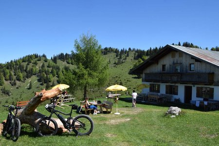 Steinbergalm und Kaindlhütte von Kufstein