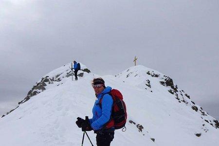 Hoher Mann (2593 m) von der Talschlusshütte