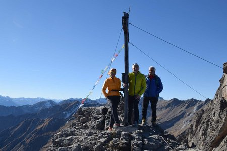 Vordere Platteinspitze (2562 m) von der Untermarkter Alm