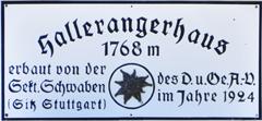 Logo Hallerangerhaus, 1768 m - Scharnitz