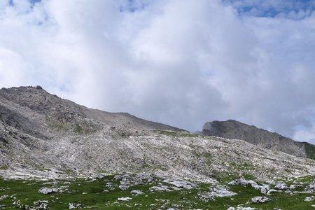 Sas Ciampac (2672 m) vom Grödner Joch