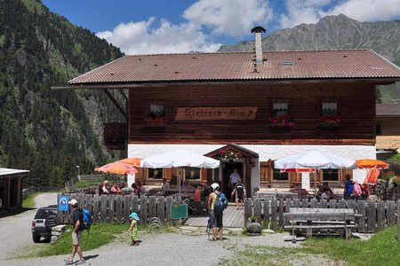Gleirsch Alm, 1666 m - Sellraintal