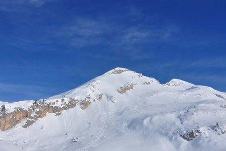 Col Bechei Dessora-Pareispitze (2794 m) von Pederü