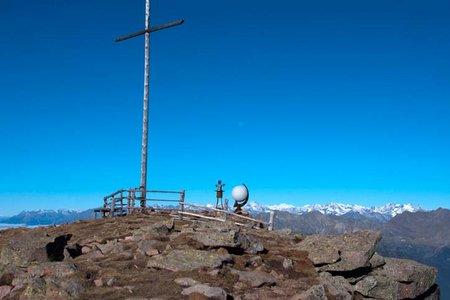 Villanderer Berg (2509 m) vom Parkplatz Kaser