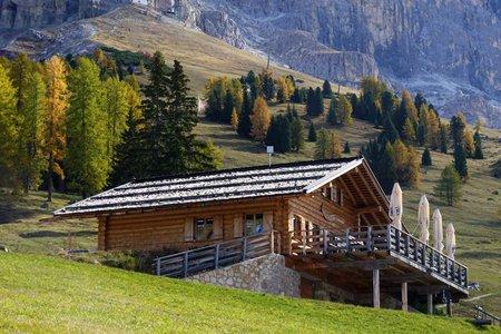 Almhütte Messnerjoch vom Cyprianerhof