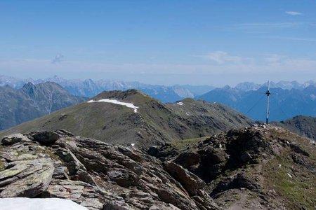 Roter Kogel (2832 m) von der Potsdamer Hütte