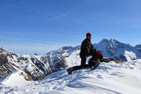 Silleskogel (2418 m) aus dem Valsertal/Padaun