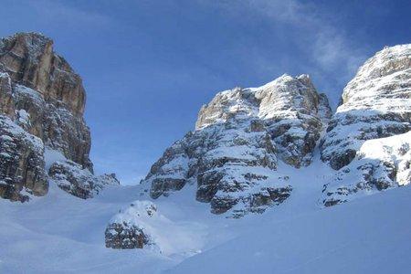 Cristalloscharte-Forc. del Cristallo (2808 m) aus dem Val Popena
