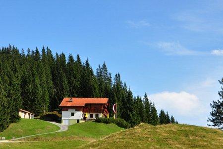 Wandberghütte von Walchsee