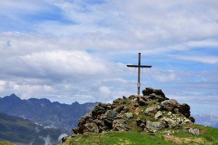 Schaflegerkogel (2405 m) vom Alpengasthof Bergheim Fotsch