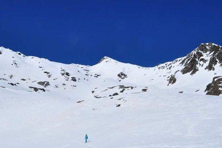 Innere Pederspitze (3295 m) aus dem Martelltal