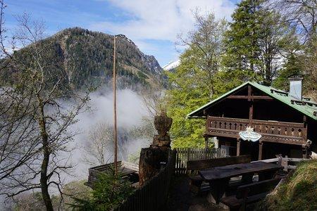 Alpensöhnehütte – Halltaler Hütte Rundwanderung von Absam