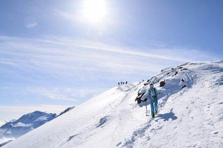 Östliche Veneziaspitze (3356 m) von der Marteller Hütte