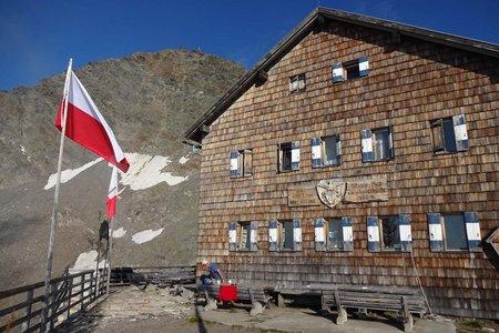 Zwickauer Hütte (2989 m) von Pfelders