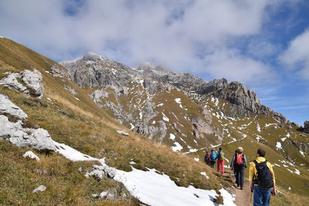 Peitlerkofel (2875 m) aus dem Villnösser Tal