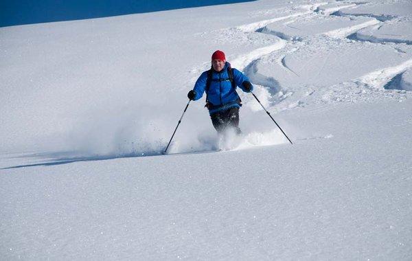 Skiabfahrt Kleiner Beil, Kitzbühler Alpen